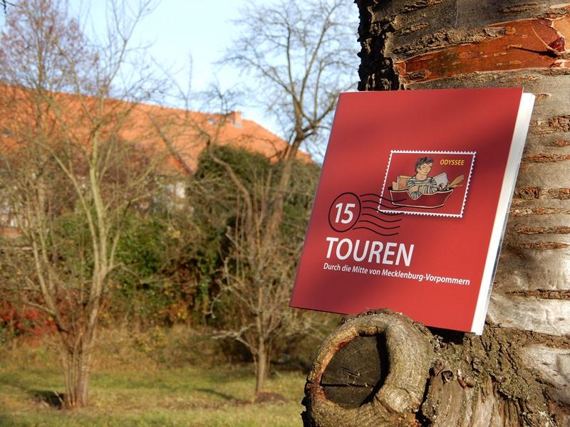 Kulturreiseführer ODYSSEE mit 15 Tourenvorschlägen durch das Mittlere Mecklenburg