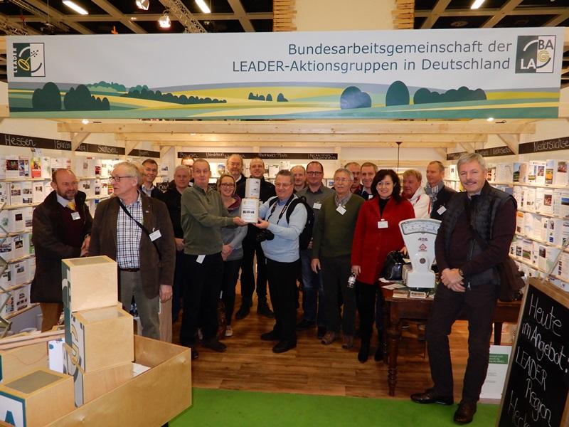 Besuch am LEADER Informationsstand auf der Grünen Woche in Berlin