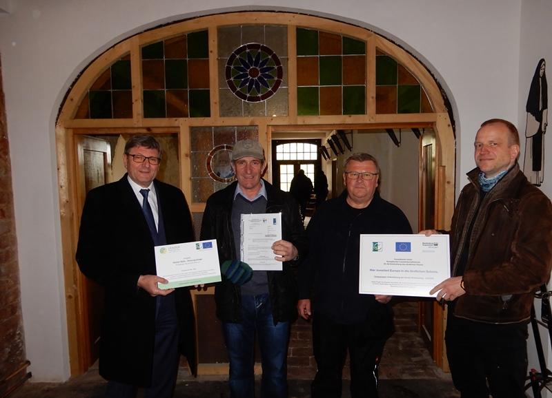 Für eine neue Heizungsanlage in der Klosterschmiede erhält der Klosterverein Rühn e.V. eine LEADER-Förderung