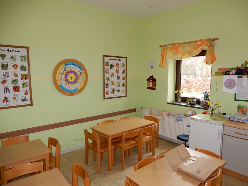 Die alte Küche in der Kita in Sukow-Marienhof