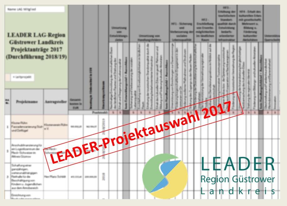 Projektauswahl 2017