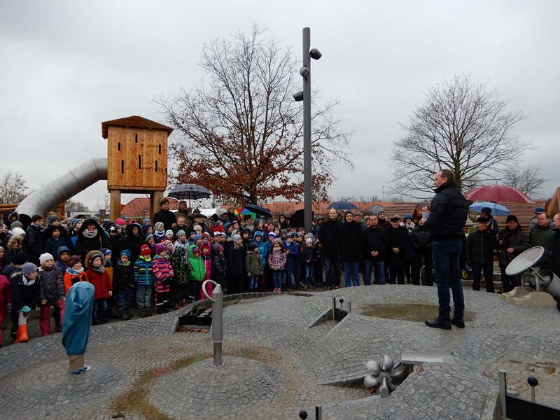 Eröffnung Park am Schloss in Bützow