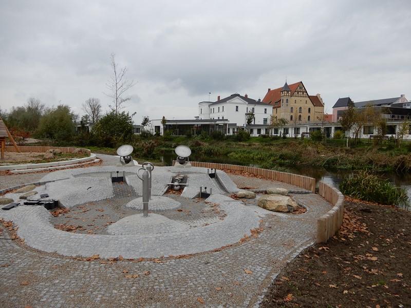 "Das Herzstück ""Wasser erleben"" im neuen Park am Schloss"