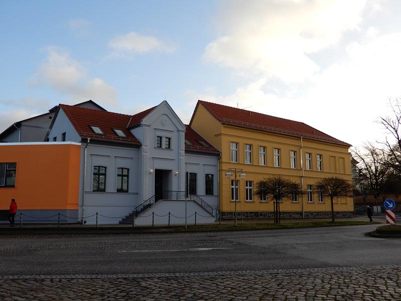 Das Kulturhaus in Teterow nach der Sanierung.
