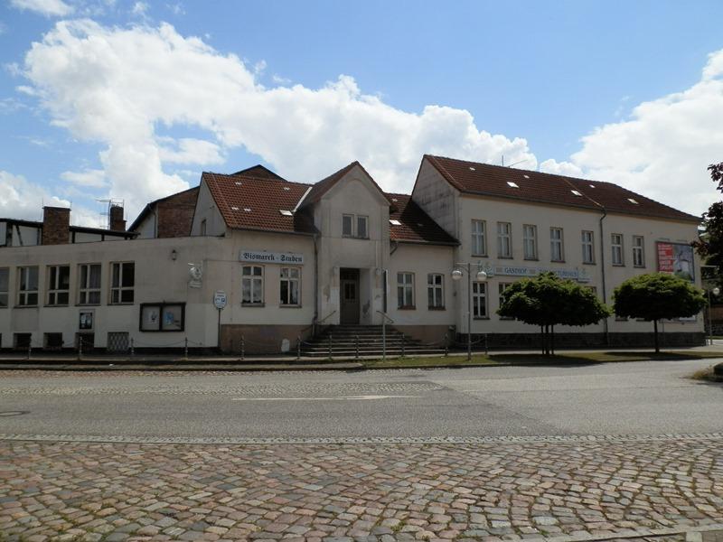Das Kulturhaus in Teterow vor der Sanierung