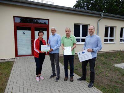 Die Gemeinde Mühl Rosin erhält eine LEADER-Förderung für den Innenausbau der Kulturellen Begegnungsstätte.