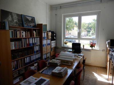Auch der Raum der Dorfchronisten soll renoviert werden.