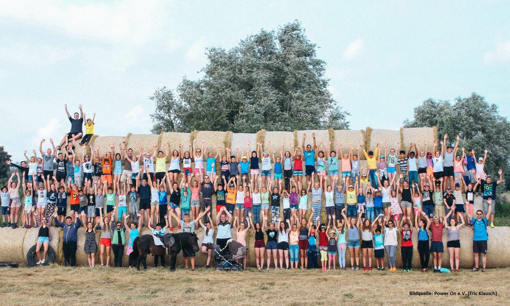 Jedes Jahr findet in Belitz ein großes Kindercamp statt.