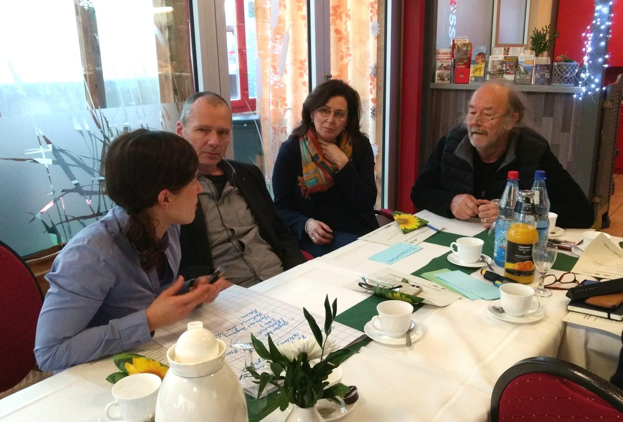 Diskussion in der Kleingruppe